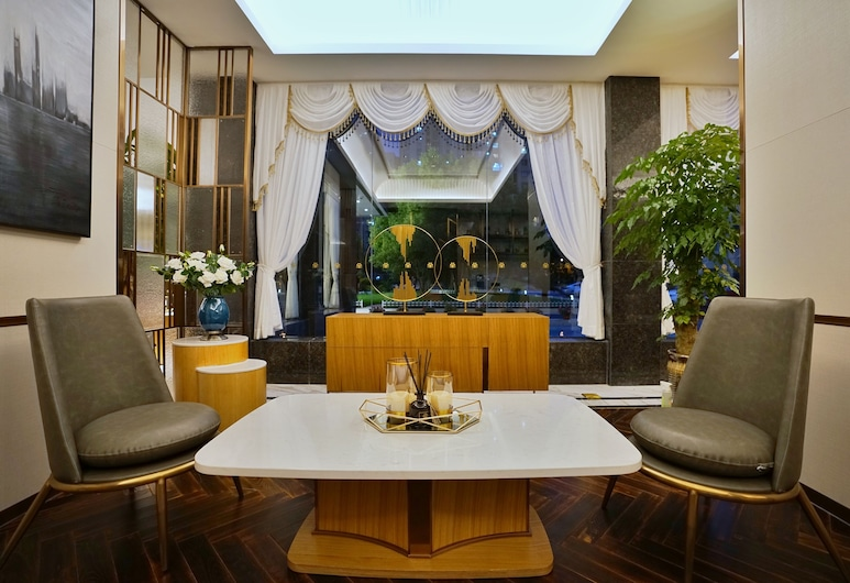 錦江都城上海陸家嘴金橋花園酒店, 上海市, 大堂閒坐區