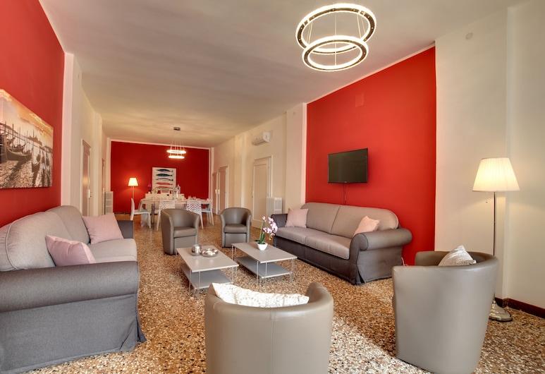 Accademia Opera Deluxe, Venedig, Apartment, Wohnbereich