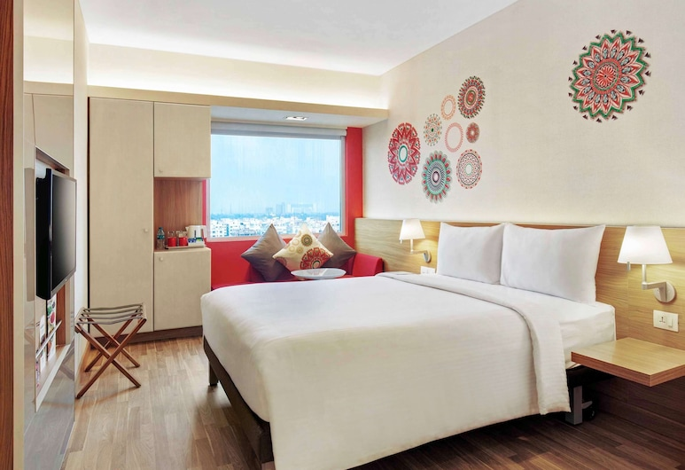 ibis Kolkata Rajarhat Hotel, Calcutá, Quarto Standard, 1 cama queen-size, Quarto