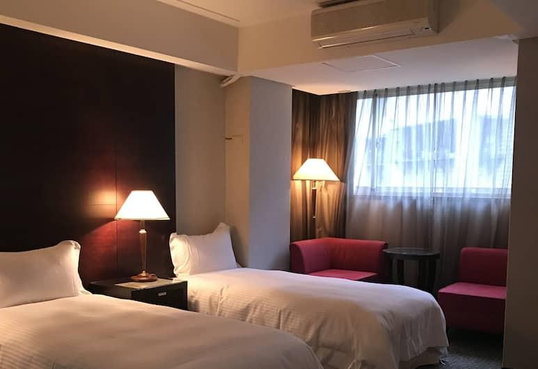 Gin Lon Lake motel, Naujasis Taipėjus, Liukso klasės dvivietis kambarys, Svečių kambarys