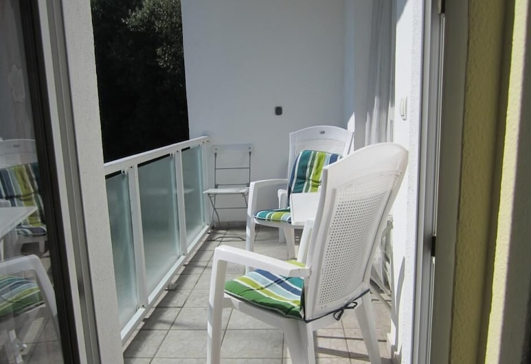 Pension am Rasthof Dresdner Tor, Klipphausen, Tek Büyük Yataklı Oda, Ortak Banyo, Balkon