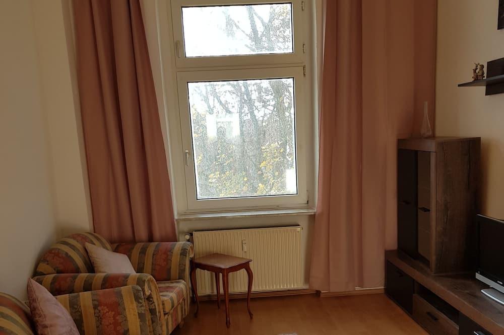 Familielejlighed - 3 soveværelser - ikke-ryger - terrasse (SP Hotels) - Opholdsområde