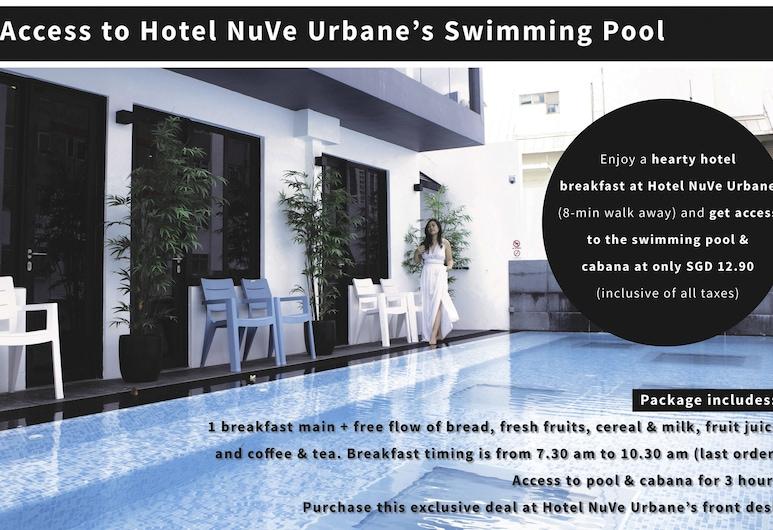 武吉士邦德精品膠囊酒店 - 青年旅舍, 新加坡, 室外泳池