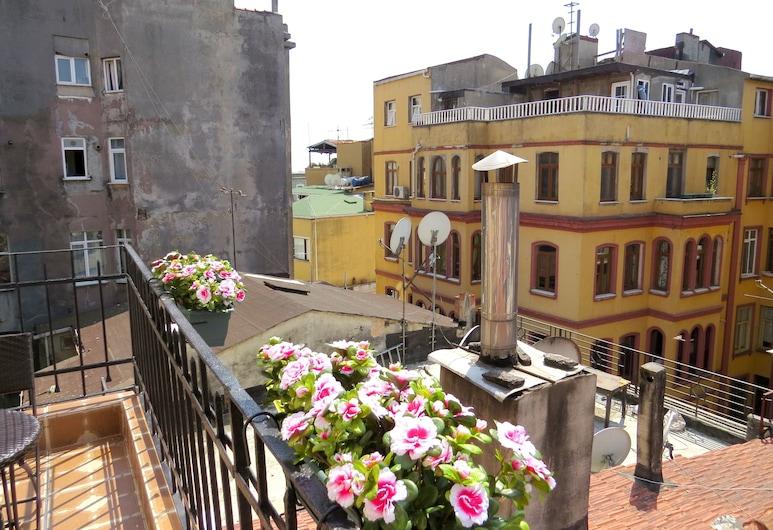 Istanberry - Sunshine Flats, Istanbul, Apartmán typu Deluxe, terasa (2nd floor), Terasa