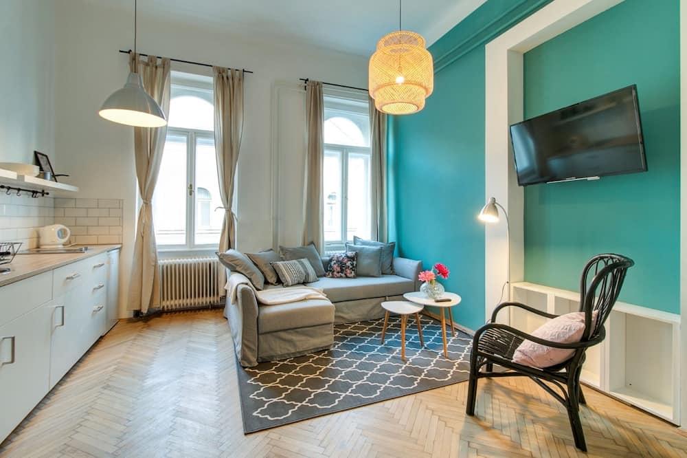 Dům typu City, 2 ložnice - Obývací prostor