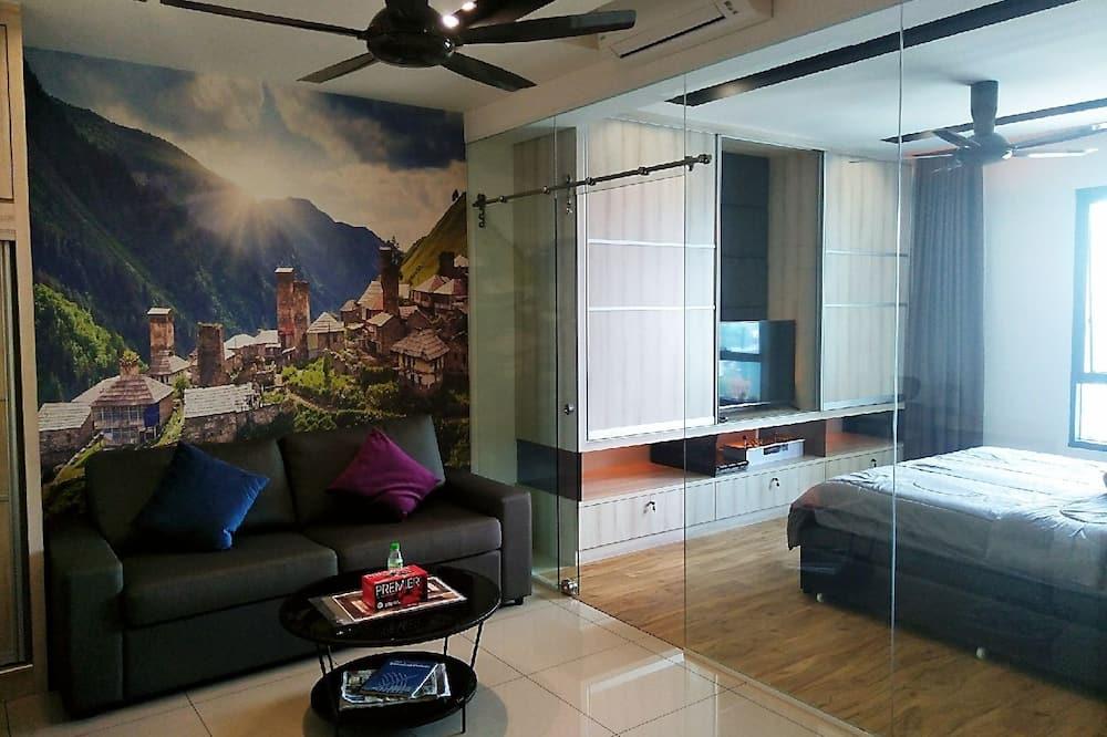 Studio Elite, Nhiều giường, Không hút thuốc - Khu phòng khách