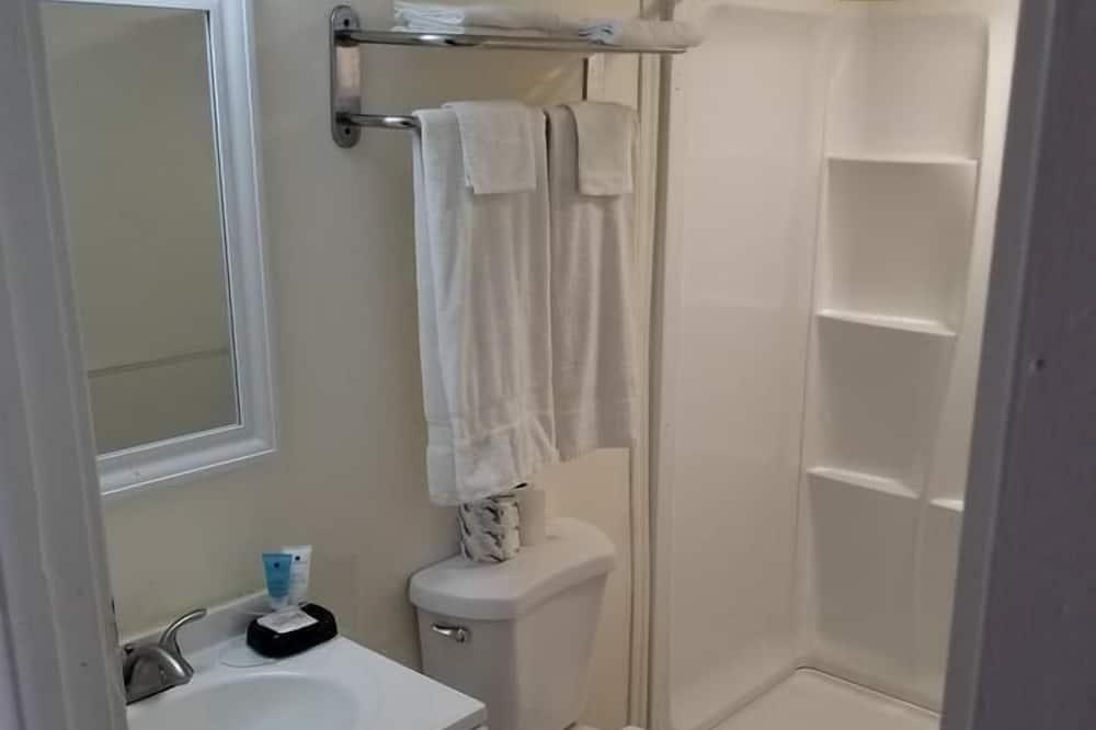 Studio apartman, 1 queen size krevet, za nepušače - Kupaonica