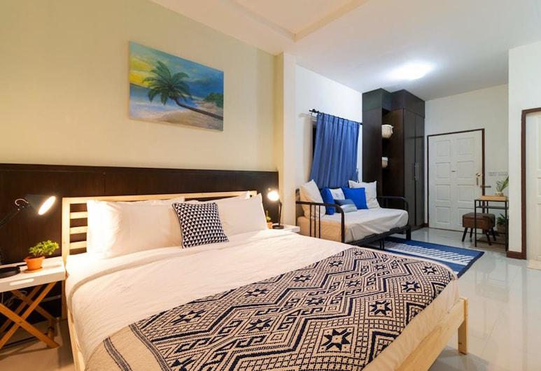 喬姆蘇梅廣場酒店, 蘇梅島, Penthouse Apartment with Sea View , 客房