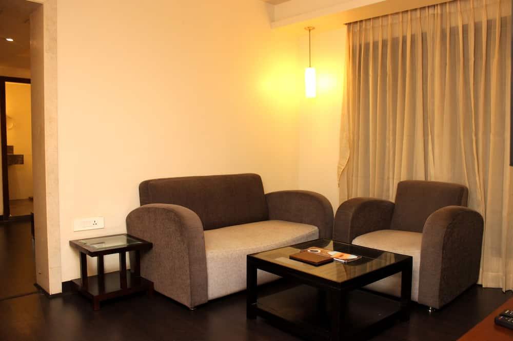 Suite Deluxe, 1 cama King size, para no fumadores - Sala de estar