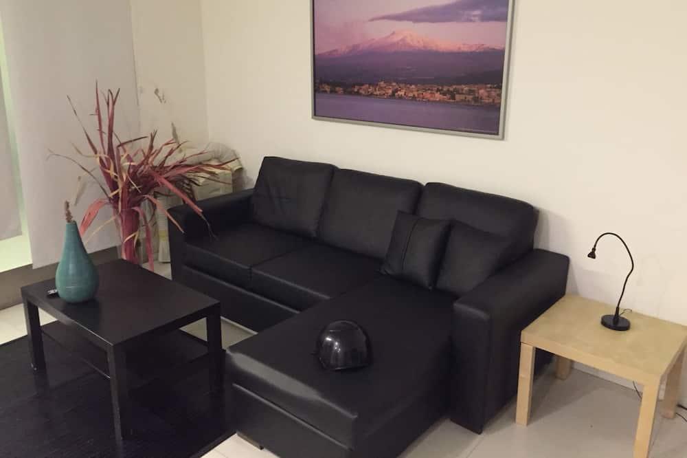 Эксклюзивные апартаменты, 2 спальни - Зона гостиной