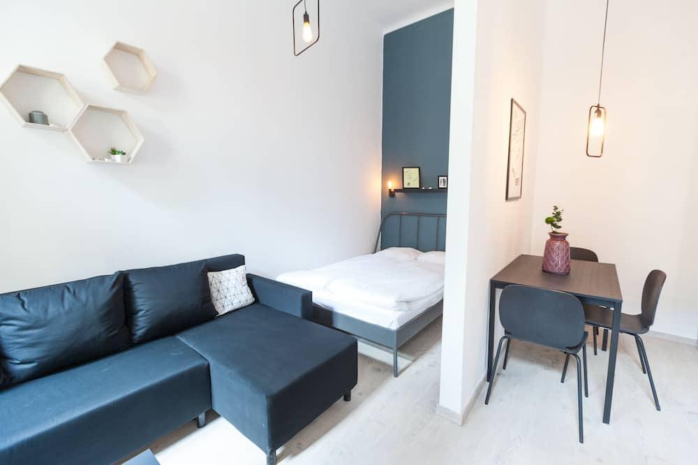 都會聯排別墅, 1 張加大雙人床及 1 張梳化床 - 客廳