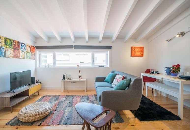 a Sweet Mikis Home, Lisabon, Apartmán, 2 spálne, Obývačka