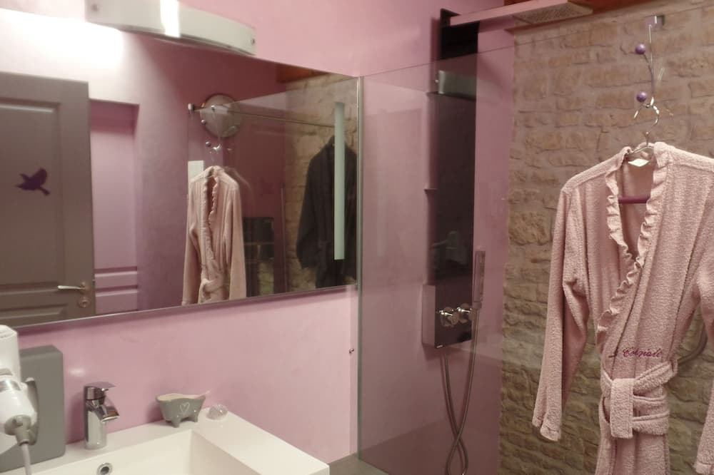 Double Room (Tourterelle) - Bathroom