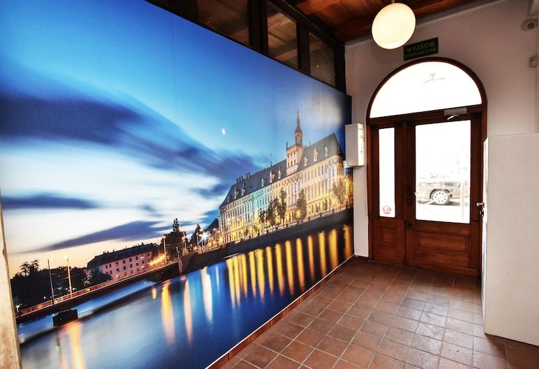 Dukes Hostel - Old Town, Вроцлав, Вхід у приміщення