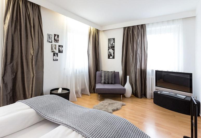 Hotel Forelle Garni, Bergkirchen, Dubbelrum, Gästrum