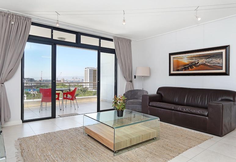 Dockside 507, Cape Town, Comfort Apartment, Balcony, Living Room