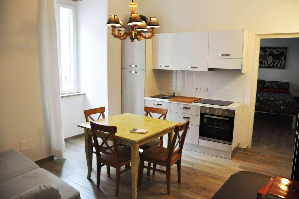 Romantický apartmán, 2 ložnice - Obývací prostor