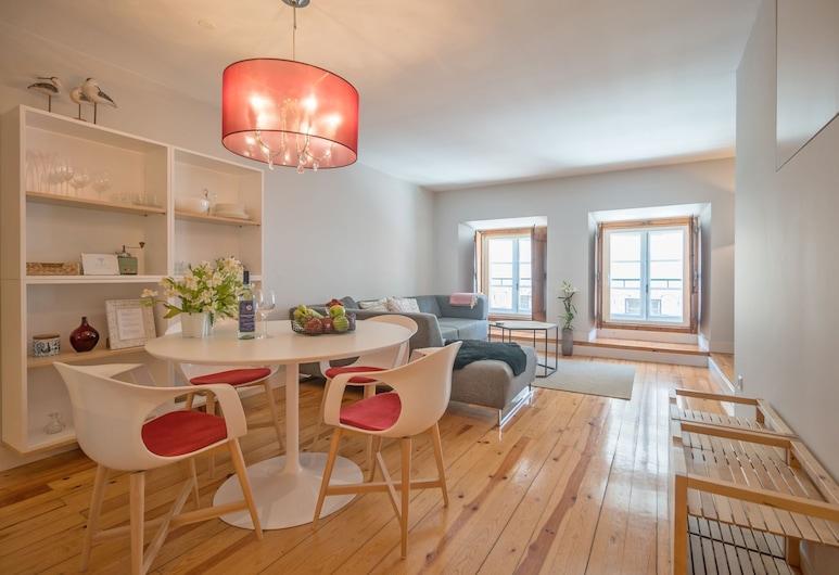 Elegant & Cozy Apartment , Lissabon, Huoneisto, 1 makuuhuone, Terassi, Oleskelualue