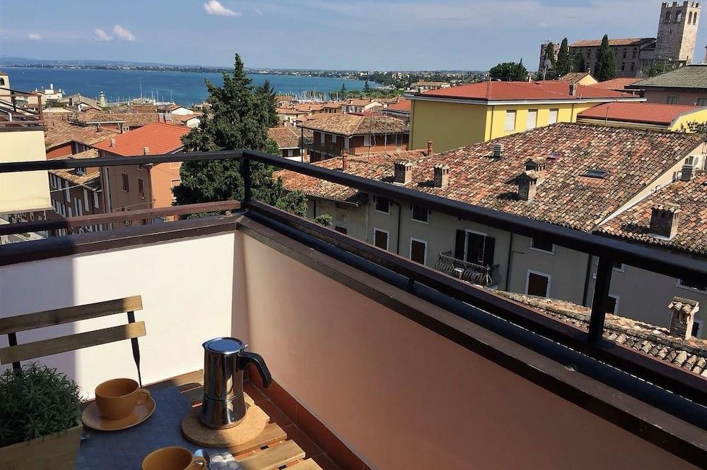 Deluxe-Penthouse, 2Schlafzimmer, 2 Bäder - Balkon