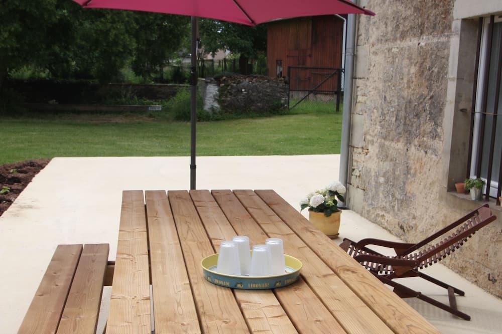 Dom Comfort, 4 sypialnie, dla niepalących - Taras/patio