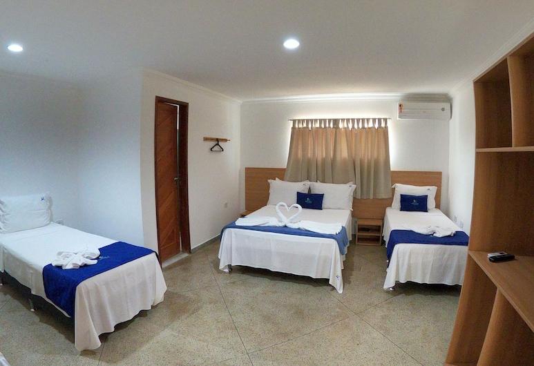 Pousada Maragogi Suites, Maragogi, Quarto Triplo Comfort, Vista Cidade, Quarto