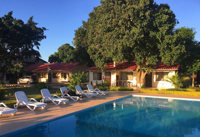 Los Jazmines Hotel Resort, Warnes, Departamento exclusivo, 1 cama doble, para no fumadores, baño privado, Habitación