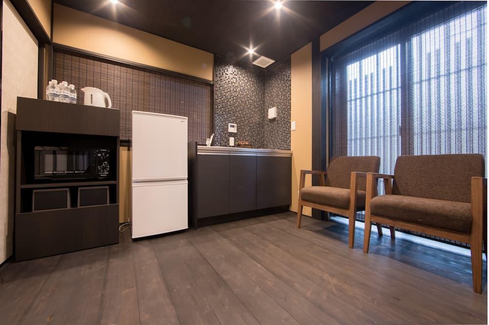 Traditional-Stadtwohnung (Japanese Style, 7 People) - Essbereich im Zimmer