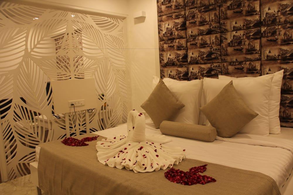 סוויטה נשיאותית, ללא עישון - חדר אורחים