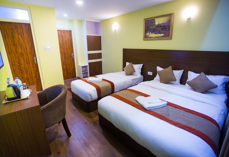 Hotel Rosemary Homes, Kathmandu, Deluxe Triple Room, Guest Room