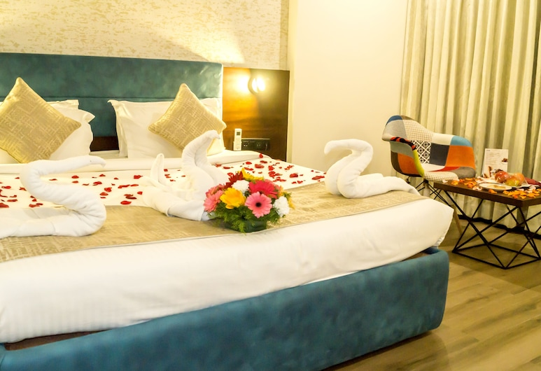 Bhagini Icon Indiranagar, Bengaluru, Deluxe Double or Twin Room, City View