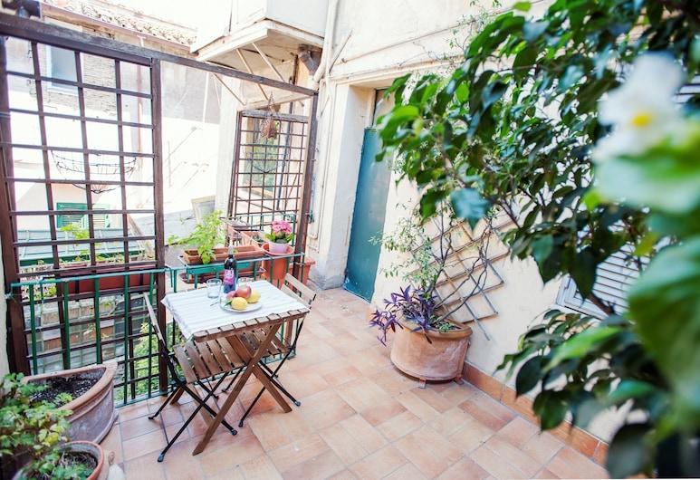 Lungaretta 2 - WR Apartments, Rím, Apartmán, 2 spálne, Terasa