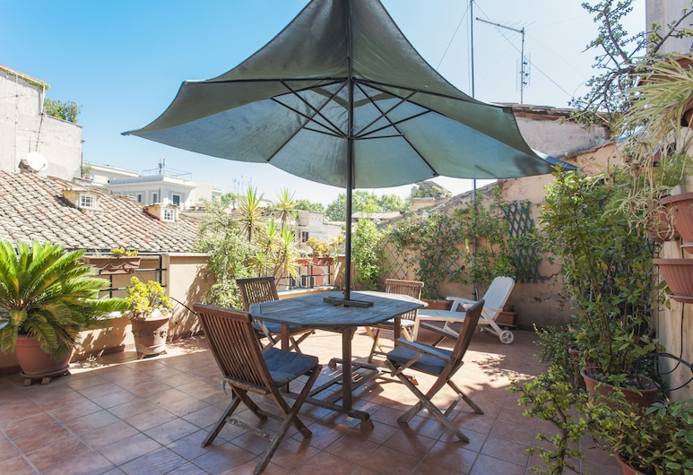 Lungaretta 4 - WR Apartments, Rome, Apartment, 1 Bedroom, Terrace/Patio