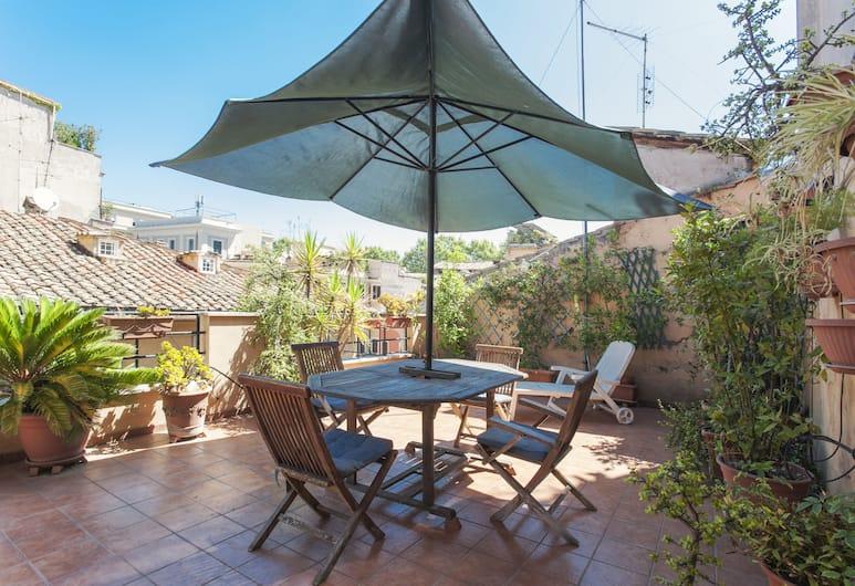 Lungaretta 4 - WR Apartments, רומא, דירה, חדר שינה אחד, מרפסת/פטיו