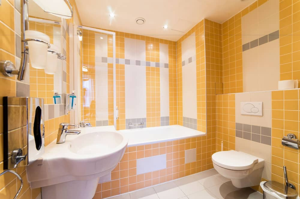 高級雙人房, 陽台 - 浴室