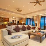 4-Bedroom Villa with Private Pool - Living Area