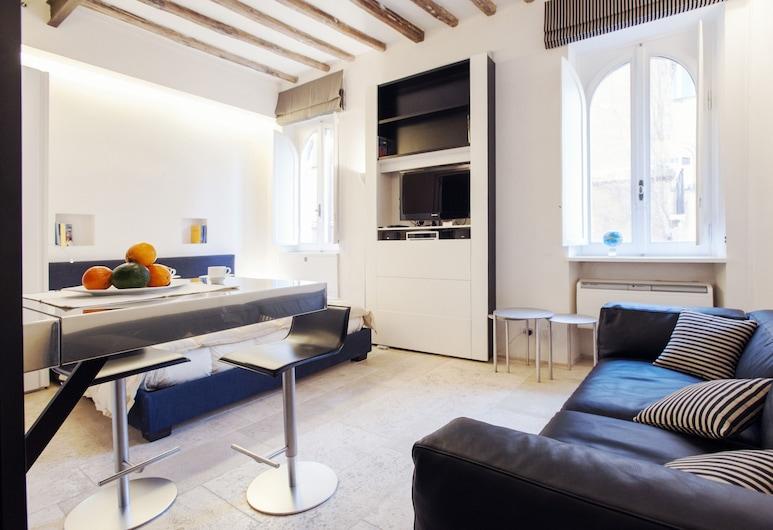 Oro - WR Apartments - Near Castel Sant'Angelo, Рим, Студия, Зона гостиной