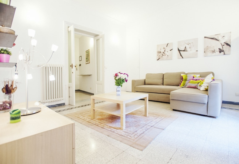 Palestrina - WR Apartments, Rome, Apartment, 3 Bedrooms, Living Room