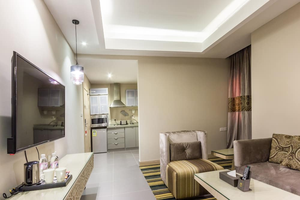 Suite, 1 Schlafzimmer - Wohnbereich