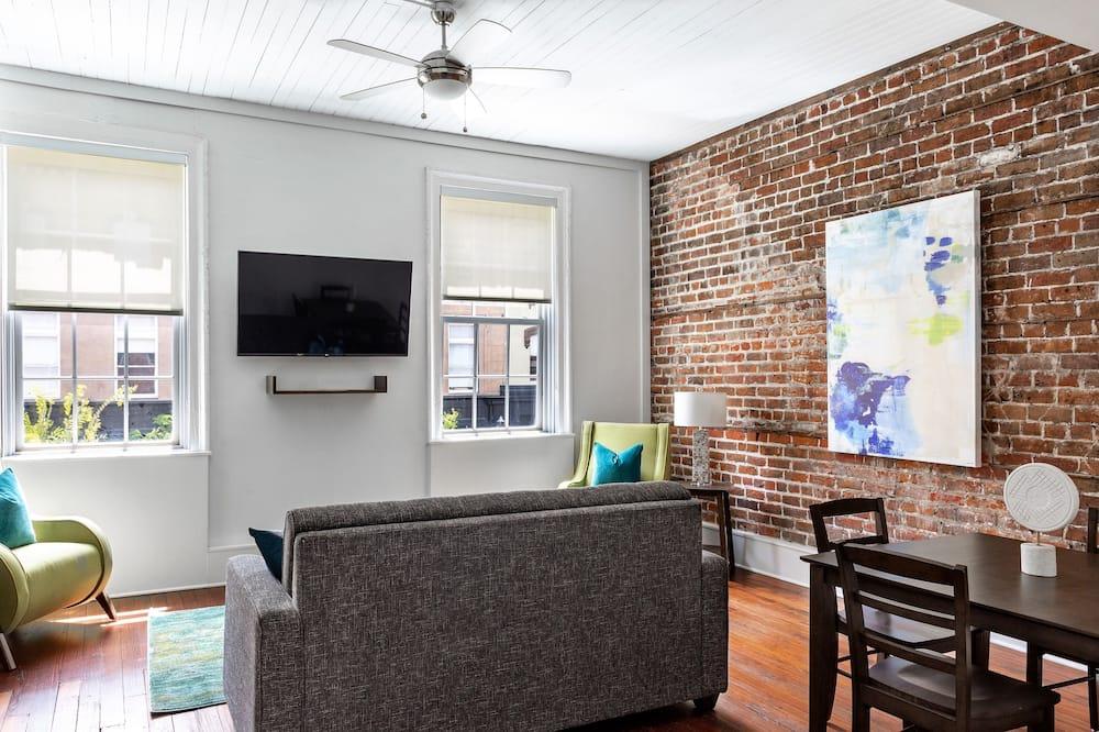 Standartinio tipo apartamentai, 1 miegamasis - Svetainė