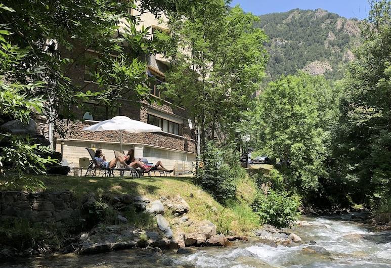 Hotel Palarine, La Massana, Vườn