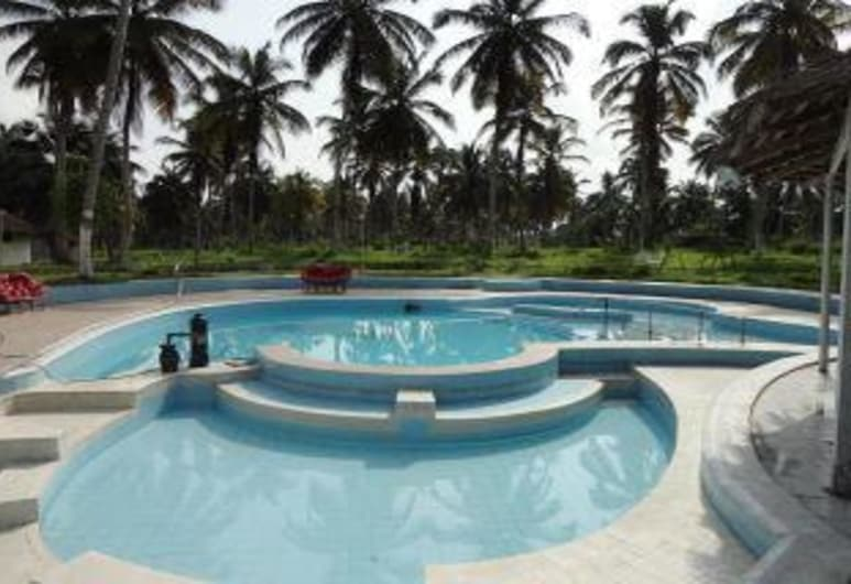 Azito Palace, Abidjan, Ulkouima-allas