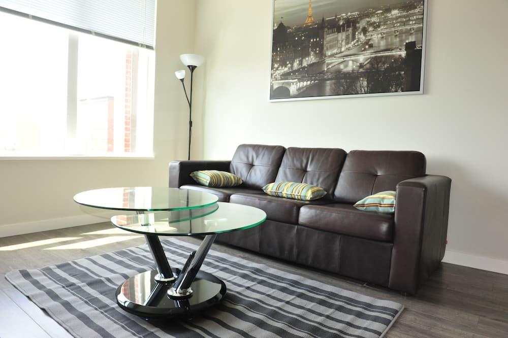 Δίκλινο Δωμάτιο για Μονόκλινη Χρήση - Καθιστικό