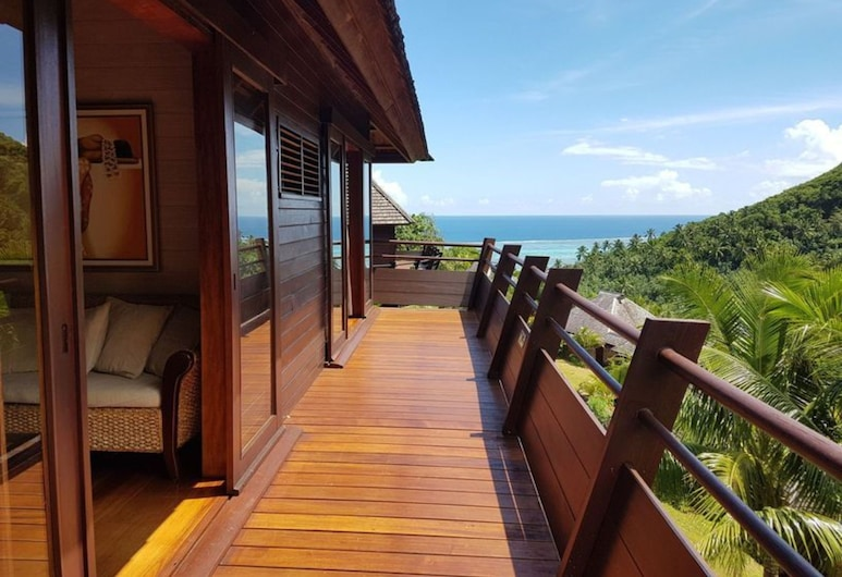 Villa Te Ata - Moorea, Moorea-Maiao, Terrasse/veranda