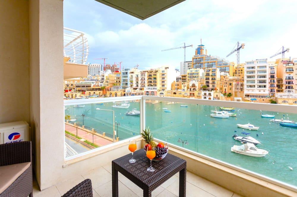 City-Apartment (4068. Olivier) - Balkon