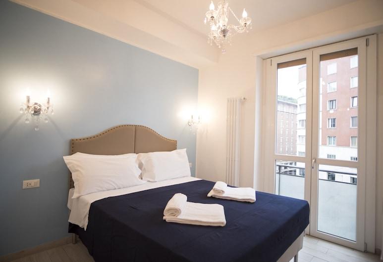 MiaVia Apartments - Marconi, Bolonha, Apartamento, 1 Quarto, Vista Cidade (Laura), Quarto