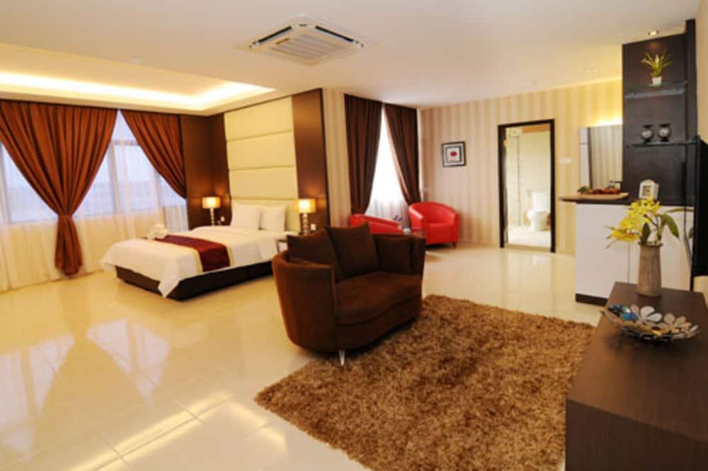 Apartmá typu Executive - Výhled na město