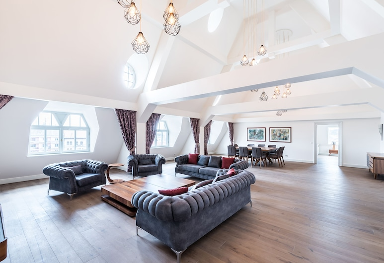 Úttö Luxury Suites, Βουδαπέστη, Privilege Top Suite, Καθιστικό
