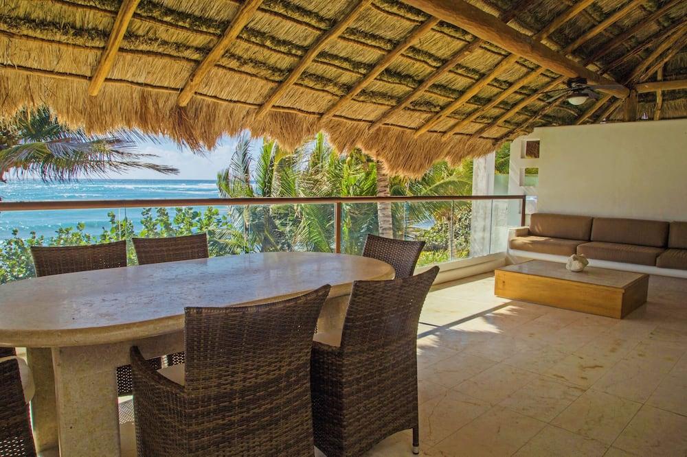 Villa, 2 Bedrooms, Terrace, Beach View - Balcony