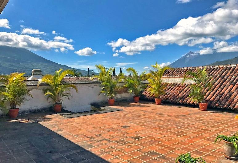 Casita El Huipil, Antigua Guatemala, Terassi/patio