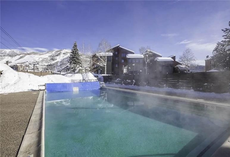 West Condominiums - W3537, Steamboat Springs, Condo, 1 Queen Bed (West Condominiums - W3537 ), Outdoor Pool
